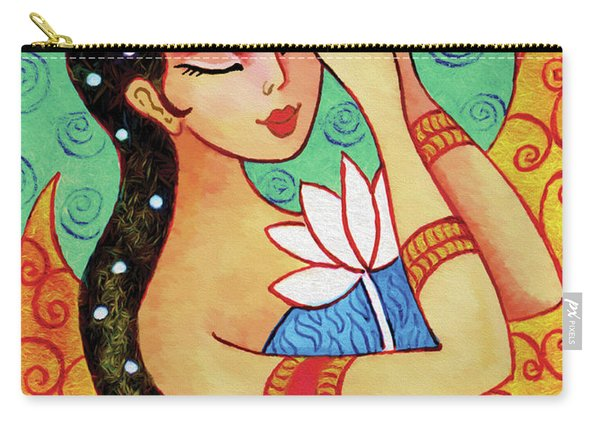 Lotus Meditation Carry-all Pouch