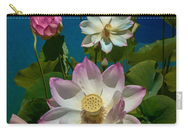 Lotus Pool Carry-all Pouch