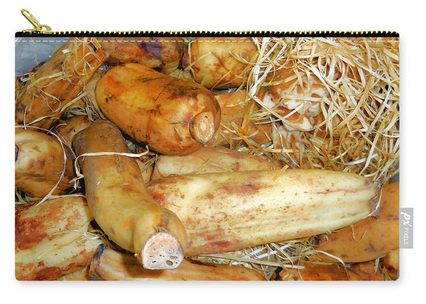 Lotus Root In Market Carry-all Pouch
