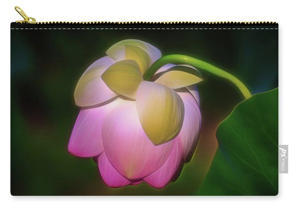 Lotus, Upside Down  Carry-all Pouch