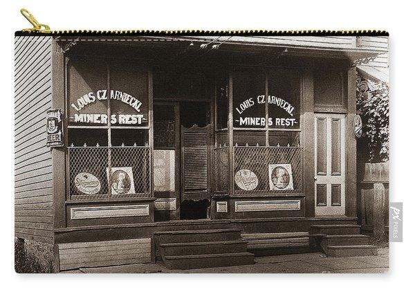 Louis Czarniecki Miners Rest 209 George Ave Parsons Pennsylvania Carry-all Pouch