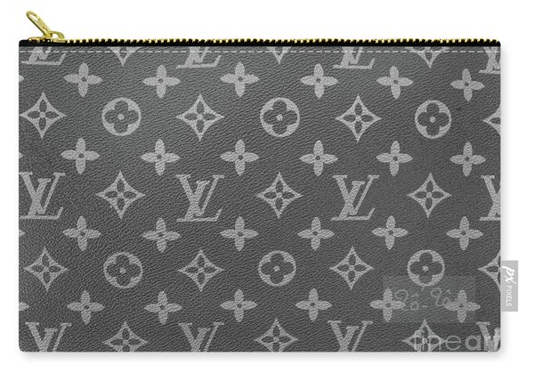 Louis Vuitton Black And White Monogram Carry-all Pouch