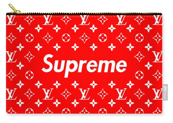 Louis Vuitton X Supreme Carry-all Pouch