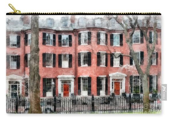 Louisburg Square Beacon Hill Boston Carry-all Pouch
