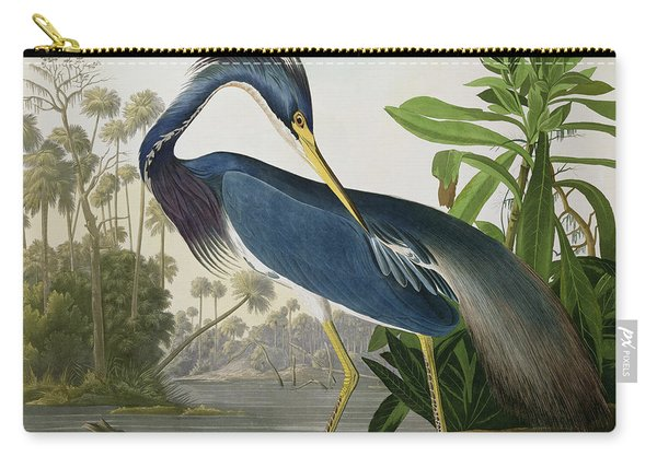 Louisiana Heron Carry-all Pouch