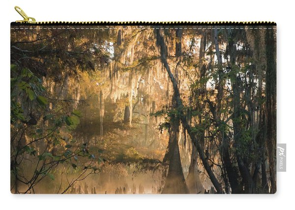 Louisiana Swamp - Early Morning Light Carry-all Pouch