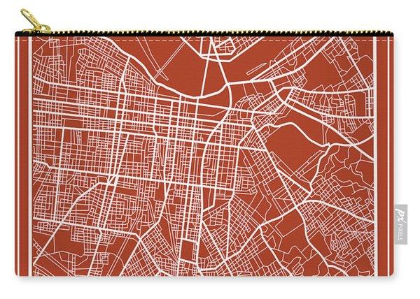 Louisville Kentucky City Map 5 Carry-all Pouch