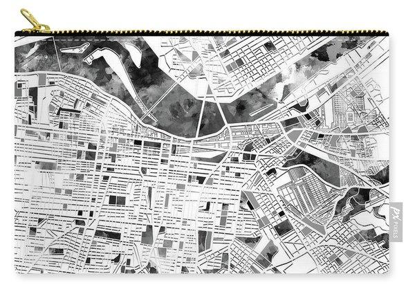Louisville Kentucky City Map Carry-all Pouch