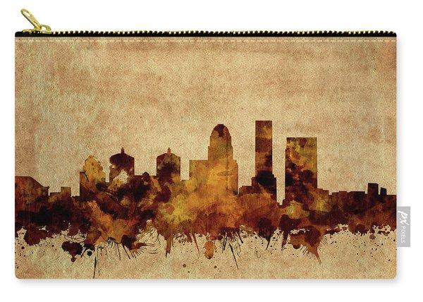 Louisville Kentucky Skyline Vintage Carry-all Pouch
