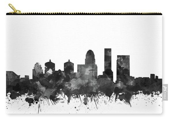 Louisville Kentucky Skyline Watercolo5 Carry-all Pouch
