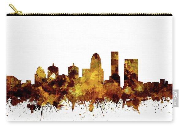 Louisville Kentucky Skyline Watercolor 2 Carry-all Pouch