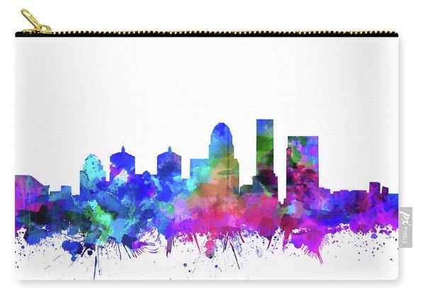 Louisville Kentucky Skyline Watercolor 3 Carry-all Pouch