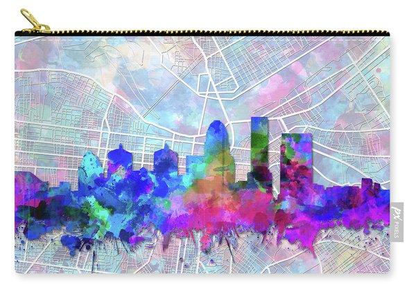 Louisville Kentucky Skyline Watercolor 5 Carry-all Pouch
