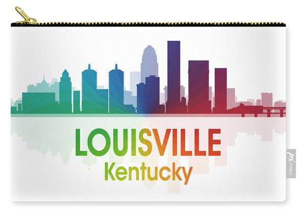 Louisville Ky 1 Squared Carry-all Pouch