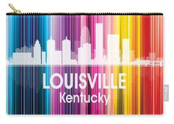 Louisville Ky 2 Squared Carry-all Pouch