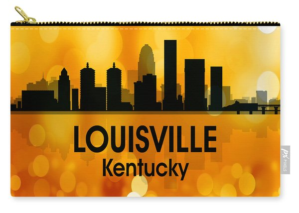 Louisville Ky 3 Squared Carry-all Pouch