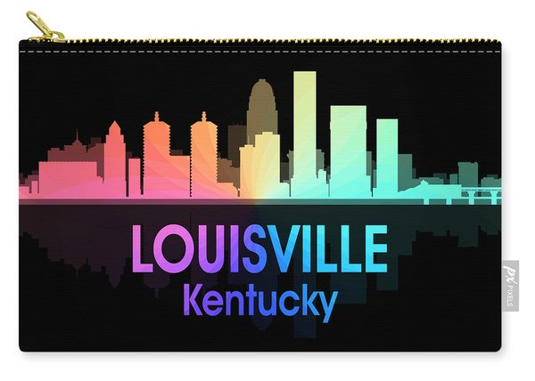 Louisville Ky 5 Squared Carry-all Pouch