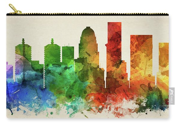 Louisville Skyline Panorama Uskylo-pa03 Carry-all Pouch