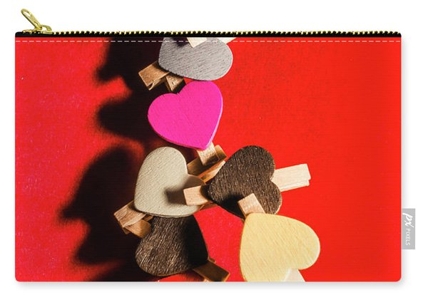 Love And Connection Carry-all Pouch