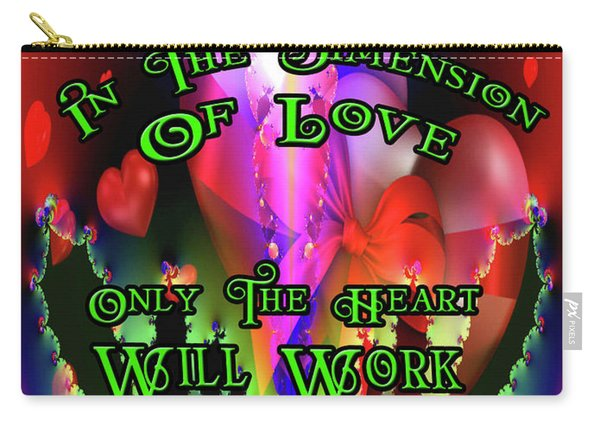 Love And Devotion Carry-all Pouch
