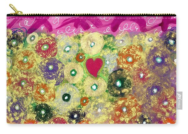 Love And Silly Bubbles Carry-all Pouch