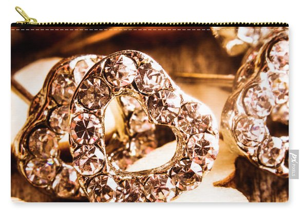 Love And The Jewellery Store Carry-all Pouch