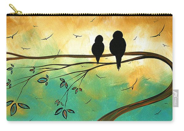 Love Birds By Madart Carry-all Pouch