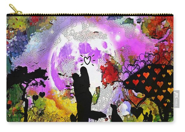Love Family And Friendship In The Mix Carry-all Pouch