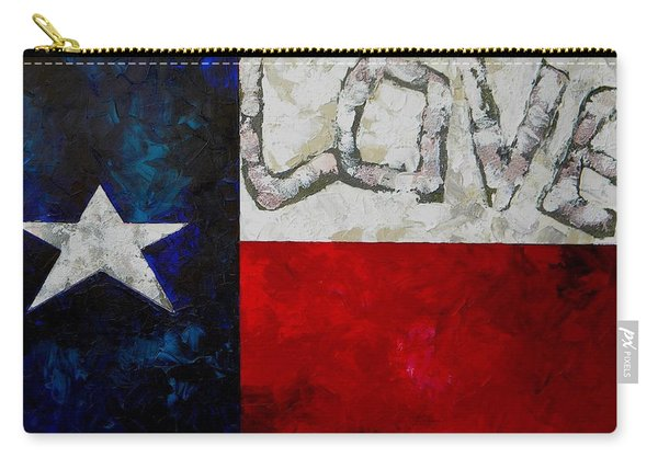 Love For Texas Carry-all Pouch