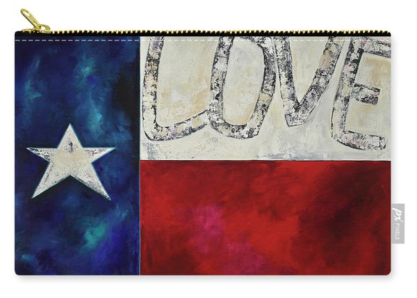 Love For Texas Two Carry-all Pouch