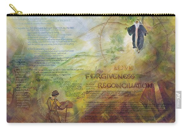 Love Forgiveness Reconciliation Carry-all Pouch