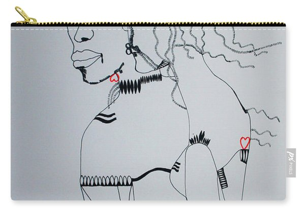 Love Is A Heartt Carry-all Pouch