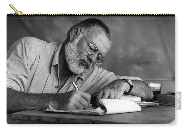 Love Of Writing - Ernest Hemingway Carry-all Pouch