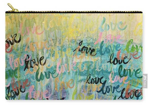 Love Reigns Carry-all Pouch