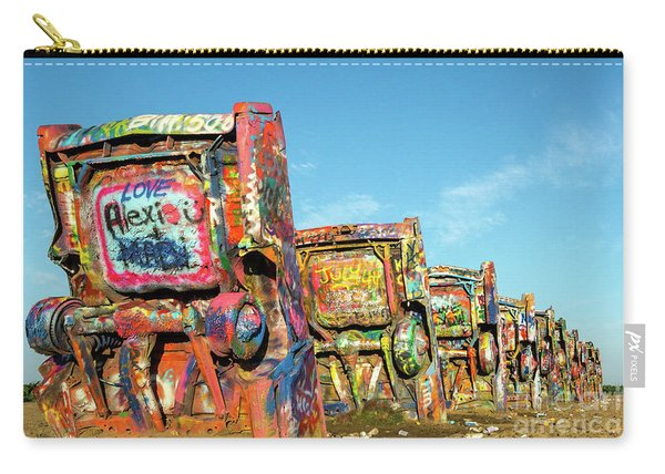 Cadillac Ranch II Carry-all Pouch
