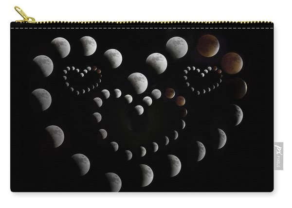 Love You To The Moon And Back Carry-all Pouch