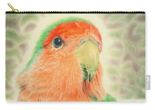 Lovebird Pilaf Carry-all Pouch