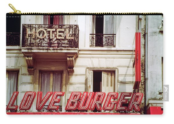 Loveburger Hotel Carry-all Pouch