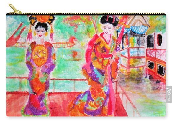 Lovely Asian Ladies Carry-all Pouch