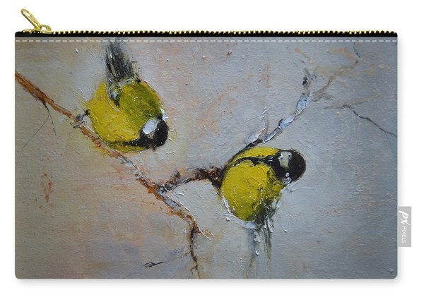 Lovely Chickadees Carry-all Pouch