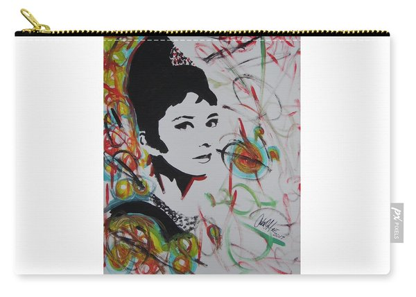 Lovely Hepburn Carry-all Pouch