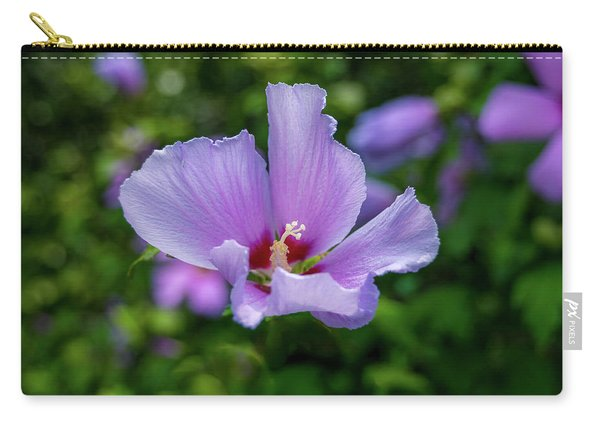 Lovely Hibiscus Carry-all Pouch