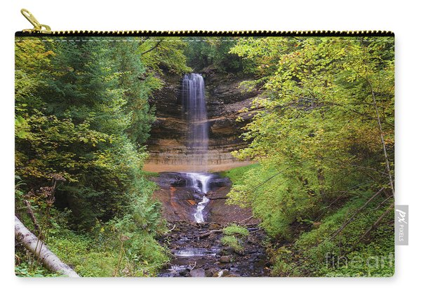 Lovely Munising Falls 2 Carry-all Pouch