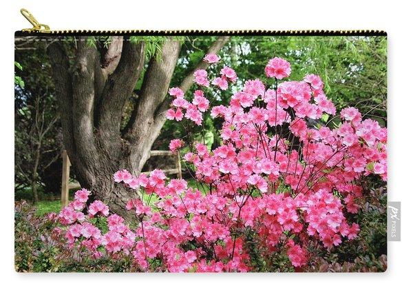 Lovely Pink Azalea Carry-all Pouch