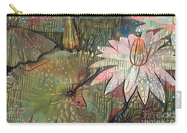 Lovely Waterlilies 4 Carry-all Pouch