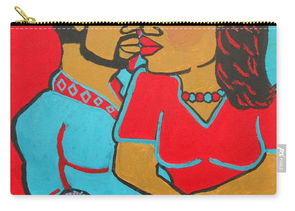 Lovers Embrace Carry-all Pouch