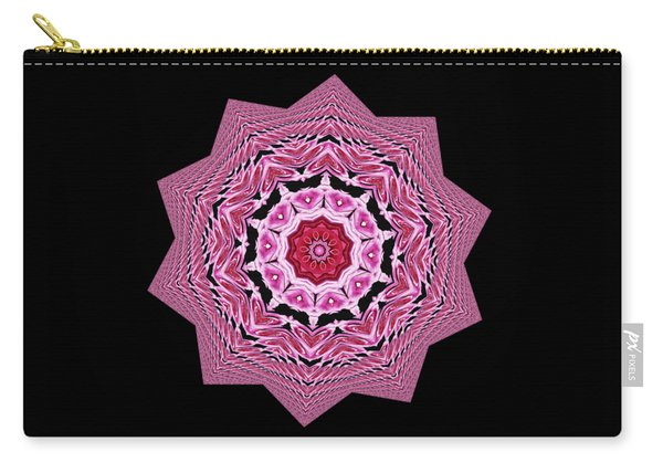 Loving Rose Mandala By Kaye Menner Carry-all Pouch