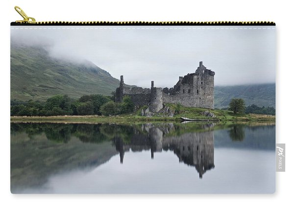Low Mist At Kilchurn Carry-all Pouch