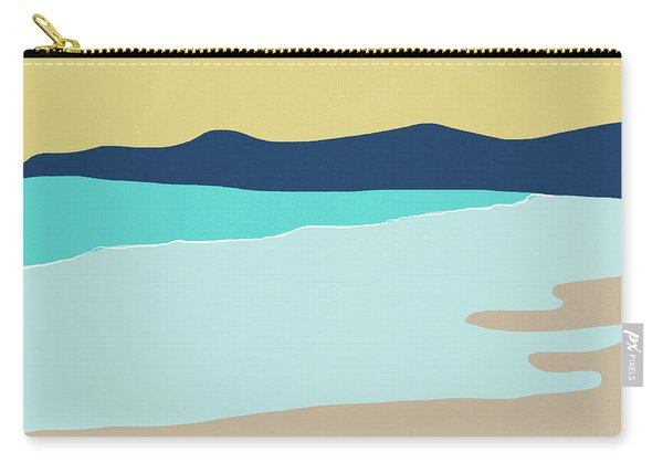 Low Tide- Art By Linda Woods Carry-all Pouch