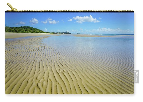 Low Tide Beach Ripples Carry-all Pouch